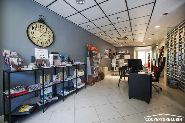 Showroom Chateaudun Couverture Lubin